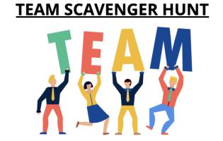 Tean Scavenger Hunt Graphic